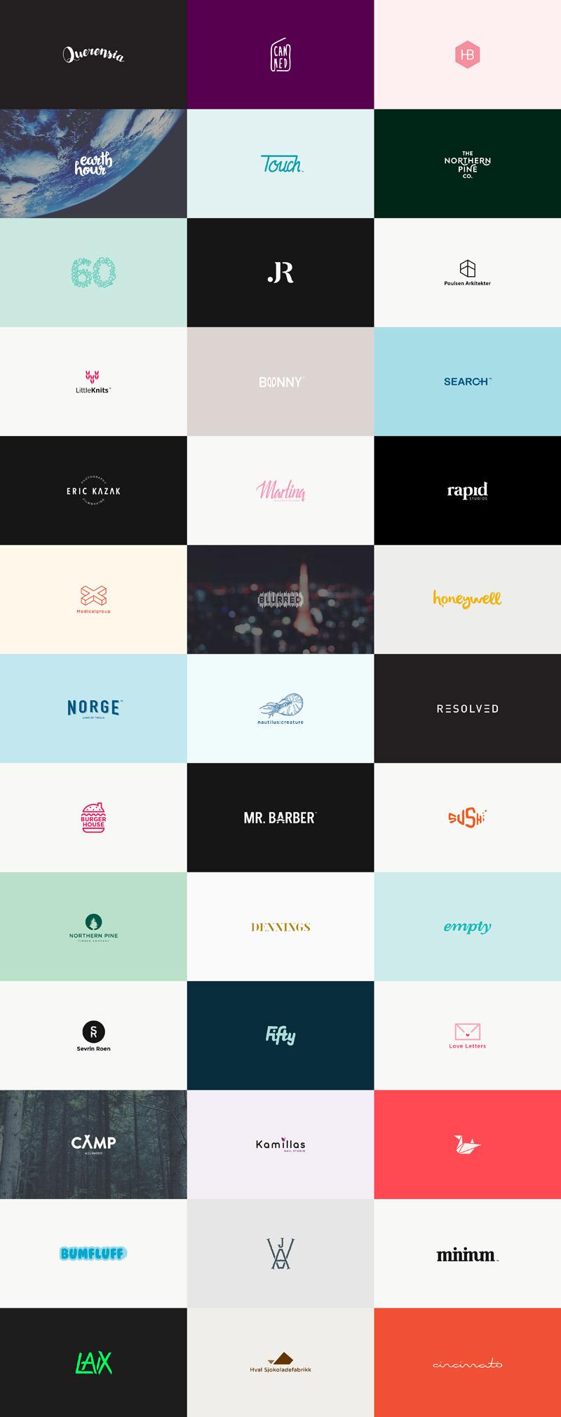 60 Logos in 60 Days by Karoline Tynes